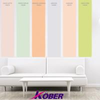 Noile culori pentru gama de vopsea gata colorata Kober